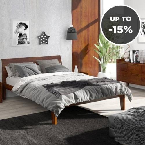 Skandica | Beds & Bedside Cabinets You'll Love