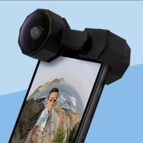 FusionLens | Capture Every Moment in 360°