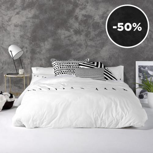 Blanc.   Scandinavian Styled Bed Linen