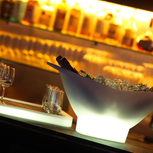 Imagilights | Luminous Wine Coolers and Serving Trays