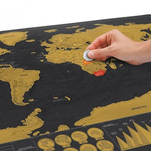 Luckies | The coolest world map collection