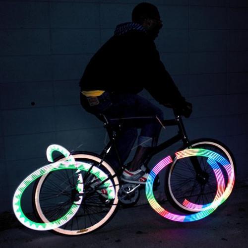 Monkey Light | The Most Flashy Bike Light