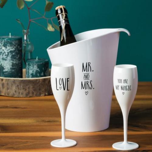 Koziol | Festive Champagne Glasses
