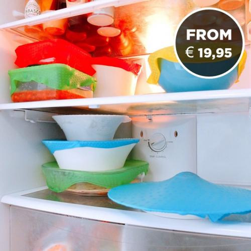The Foodguard | Stretchable Lid for all Containers