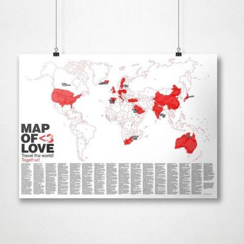 Awesome Maps | Writable Illustrated World Maps