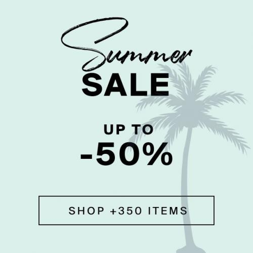 Summer Sale   Up to -50%