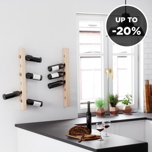 Tu Las | Wooden Wine Racks & Shelves