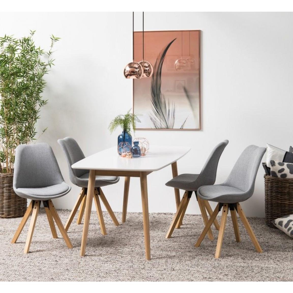 Set of 2 Chairs Nida | Black