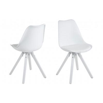 Stühle Nida 2er-Satz | Weiß