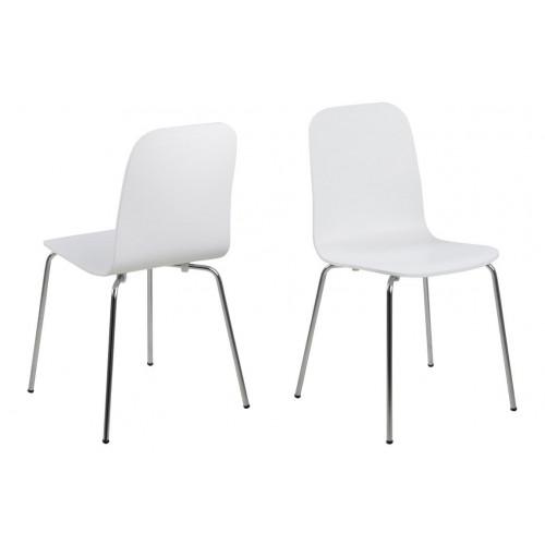 Bjoorn Stühle 4er-Set | Weiß