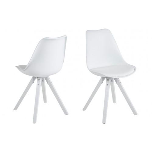 Stoelen Nida Set van 2 | Wit