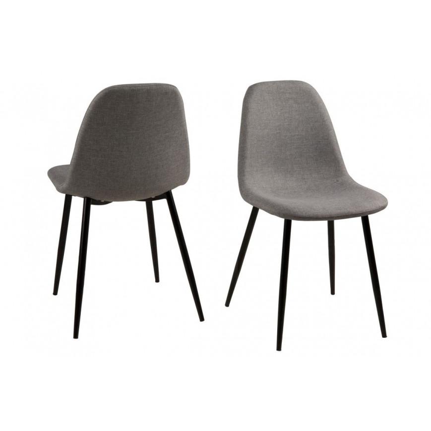 Stuhl Wendy 4er-Set | Grau