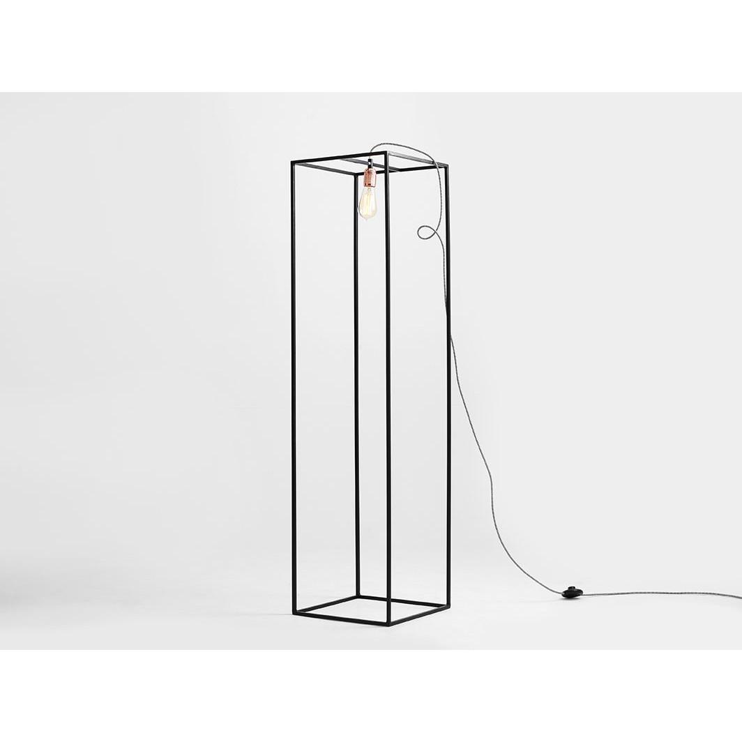 Floor Lamp Metric S   Black