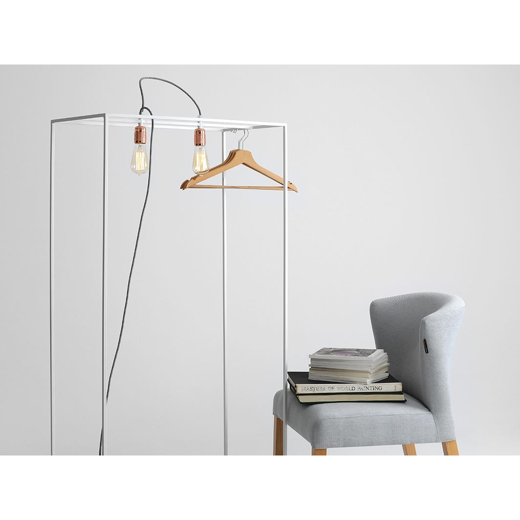 Floor Lamp Metric M | White