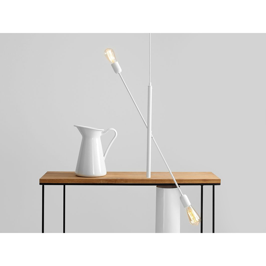 Pendant Lamp Twigo 2   White