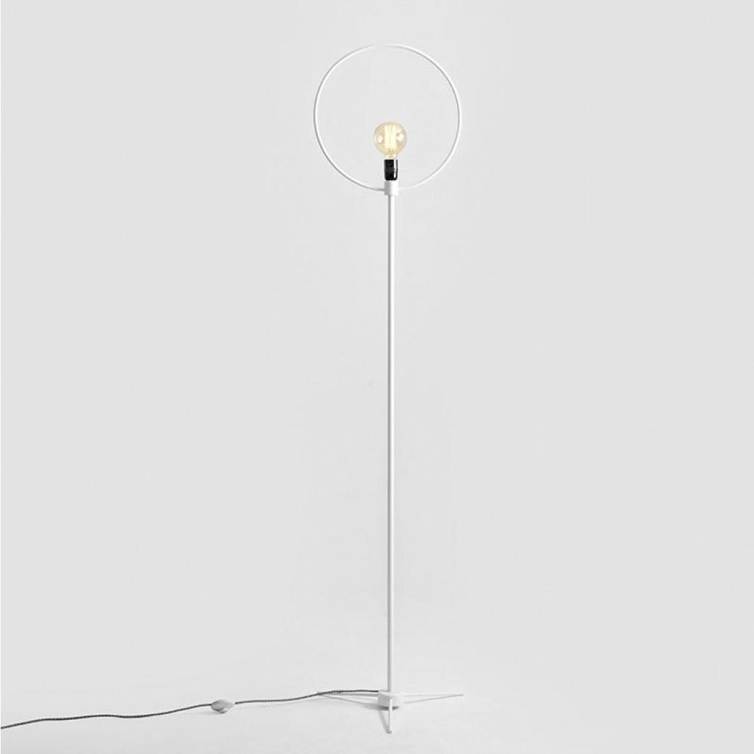 Floor Lamp Bullet | White