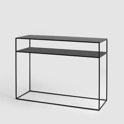 Konsole Tensio 2 Boden Metall | Schwarz