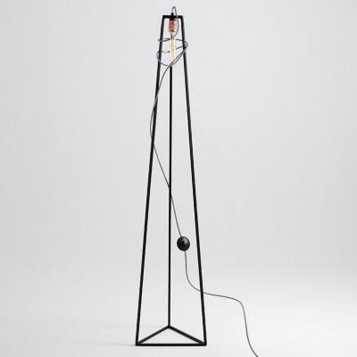 Floor Lamp Trimetric | Black