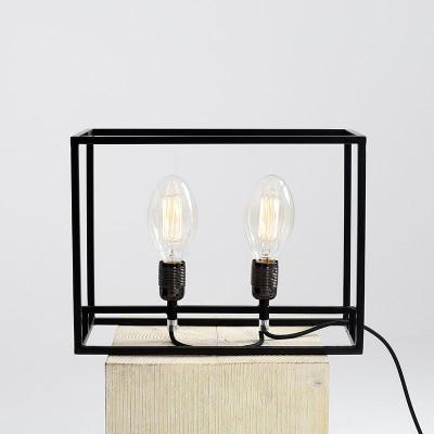 Table Lamp Metric | Black