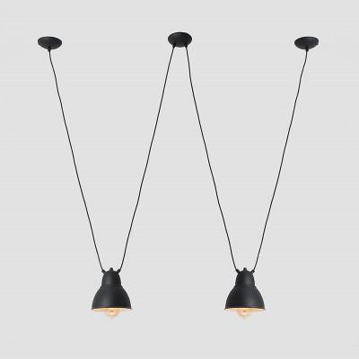 Pendant Lamp Adjustable Coben Hangman 2 | Black