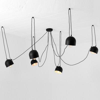 Pendant Lamp Popo 6 | Black