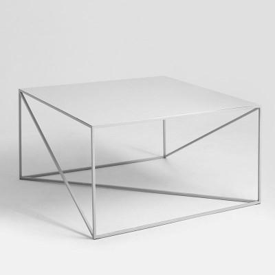 Beistelltisch Memo 80 x 80 cm | Grau