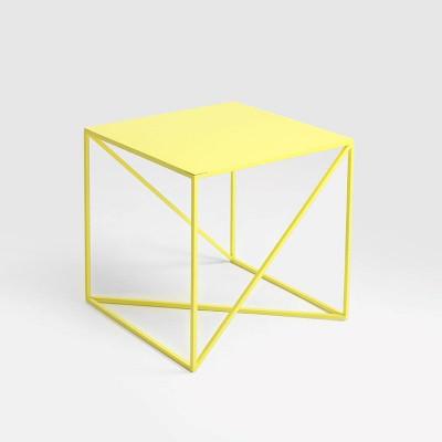Beistelltisch Memo 50 x 50 cm | Gelb