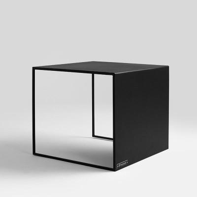 Couchtisch 2WALL 50 x 50 cm | Schwarz