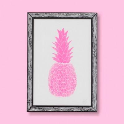 Art Print Piña | Pink