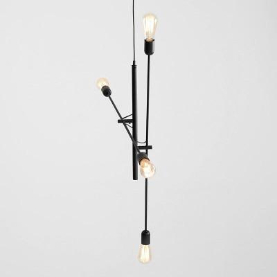 Pendant Lamp Twigo 4 | Black