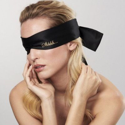 Augenbinde Schhh | Schwarz