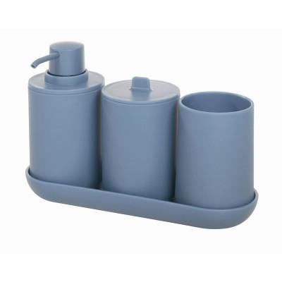 Bad-Accessoires Cade 4er-Set | Blau