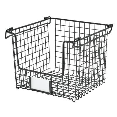 Aufbewahrungsbox Medium | Schwarz