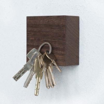 Magnetischer Holzwürfel TRAKTOR | Wengé