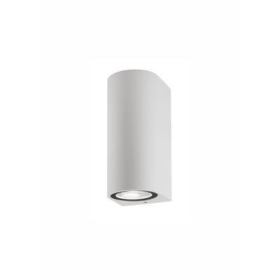 Außenwandleuchte Nero 7x8x15 cm I Weiß