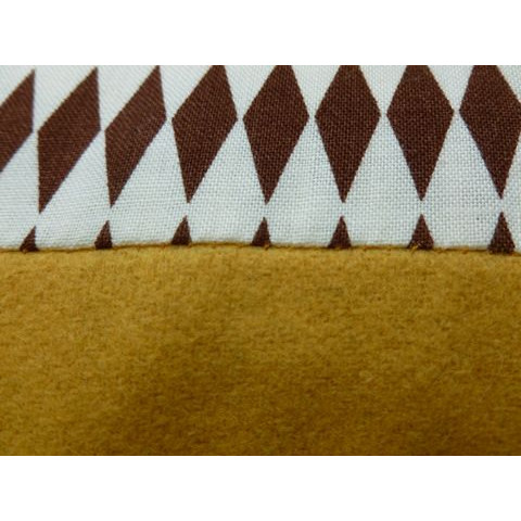 Esperanza cushion brown/yellow