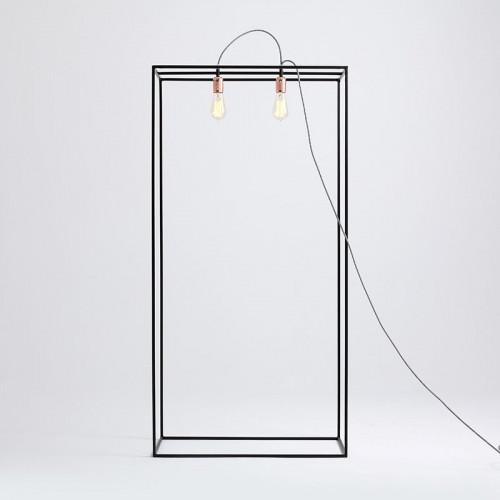 Floor Lamp Metric M | Black