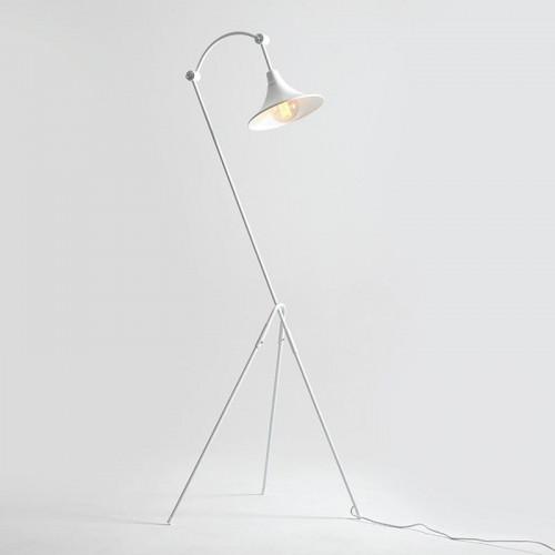 Floor Lamp Miller | White