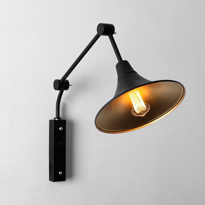 2nd Life | Wall Lamp Miller | Black