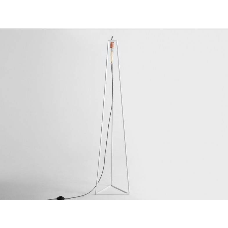 Floor Lamp Trimetric | White