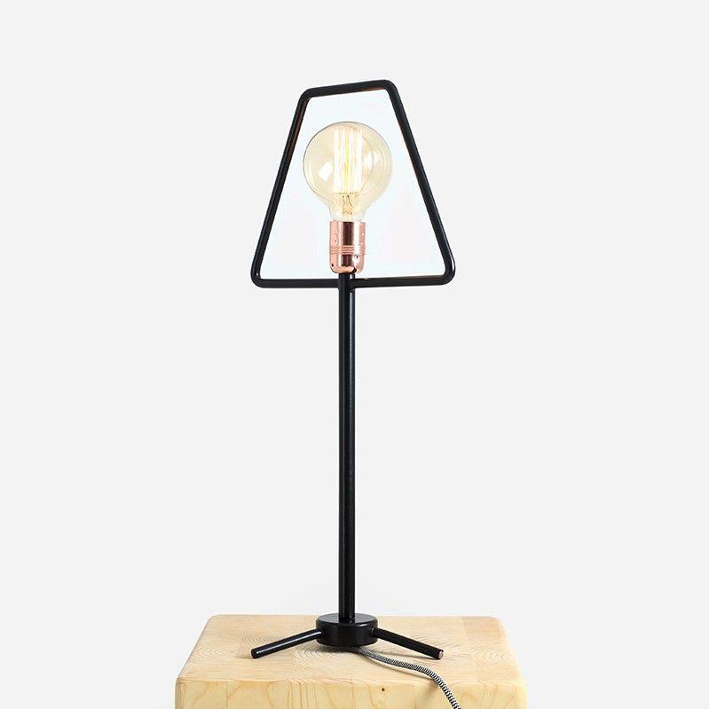 Table Lamp Firkant | Black