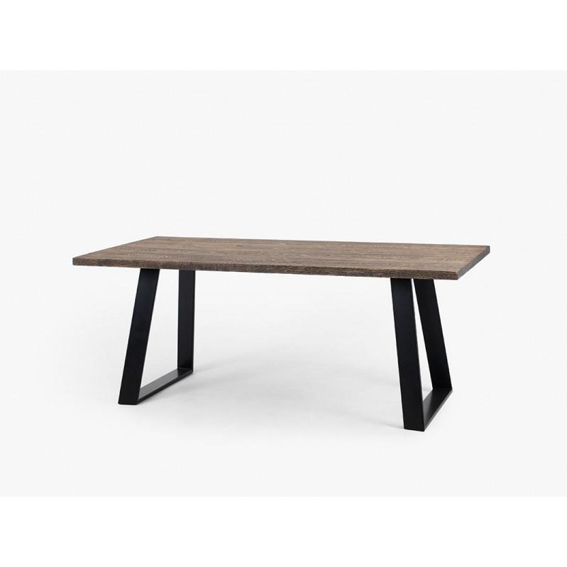 Dining Table Hofer | Oak, Black