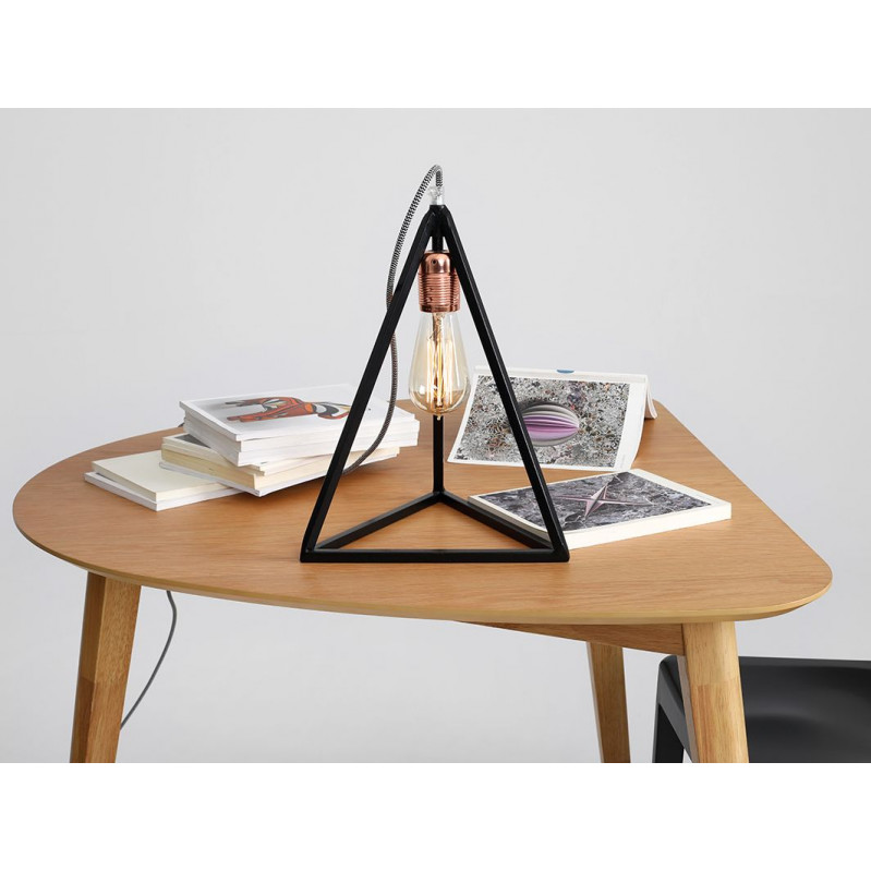 Table Lamp Trimetric | Black
