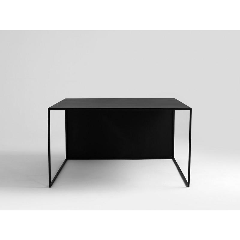 Couchtisch 2WALL 80 x 80 cm | Schwarz