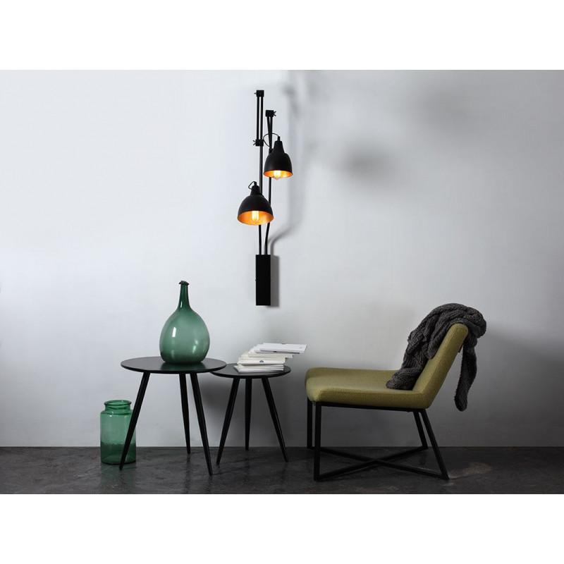 Wall Lamp Coben 02   Black