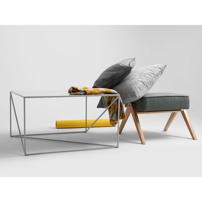 Coffee Table Memo 80 x 80 cm | Grey