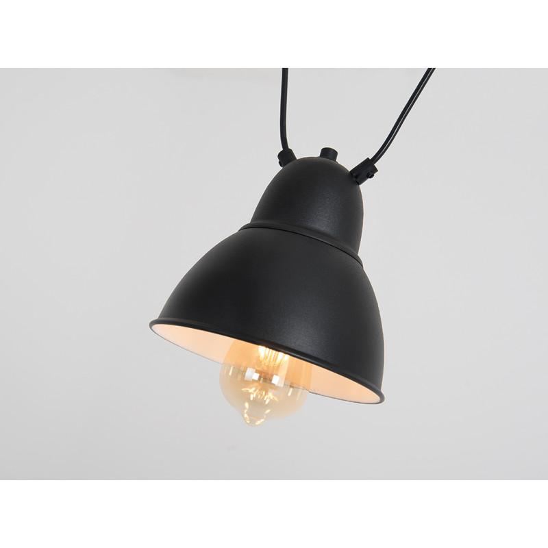 Pendant Lamp Adjustable Coben Hangman 1   Black