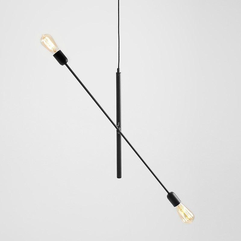 Pendelleuchte Twigo 2 | Schwarz