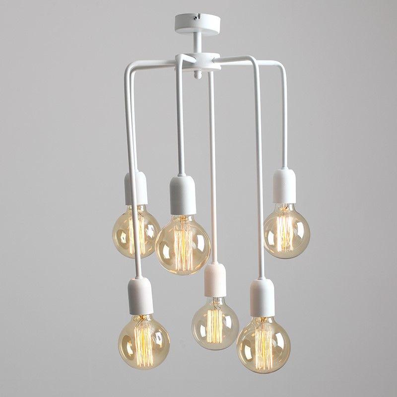 Pendant Lamp Vanwerk Tall   White