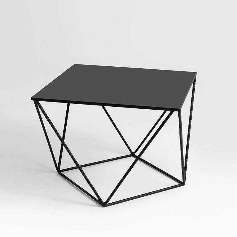 Side Table Daryl 55 | Black